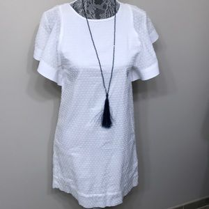 J.Crew women's white summer dress size 00